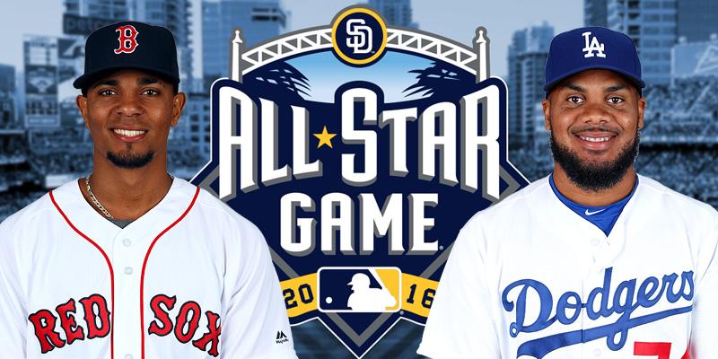 Xander Bogaerts en Kenley Jansen maken hun debuut in de All Star Game.